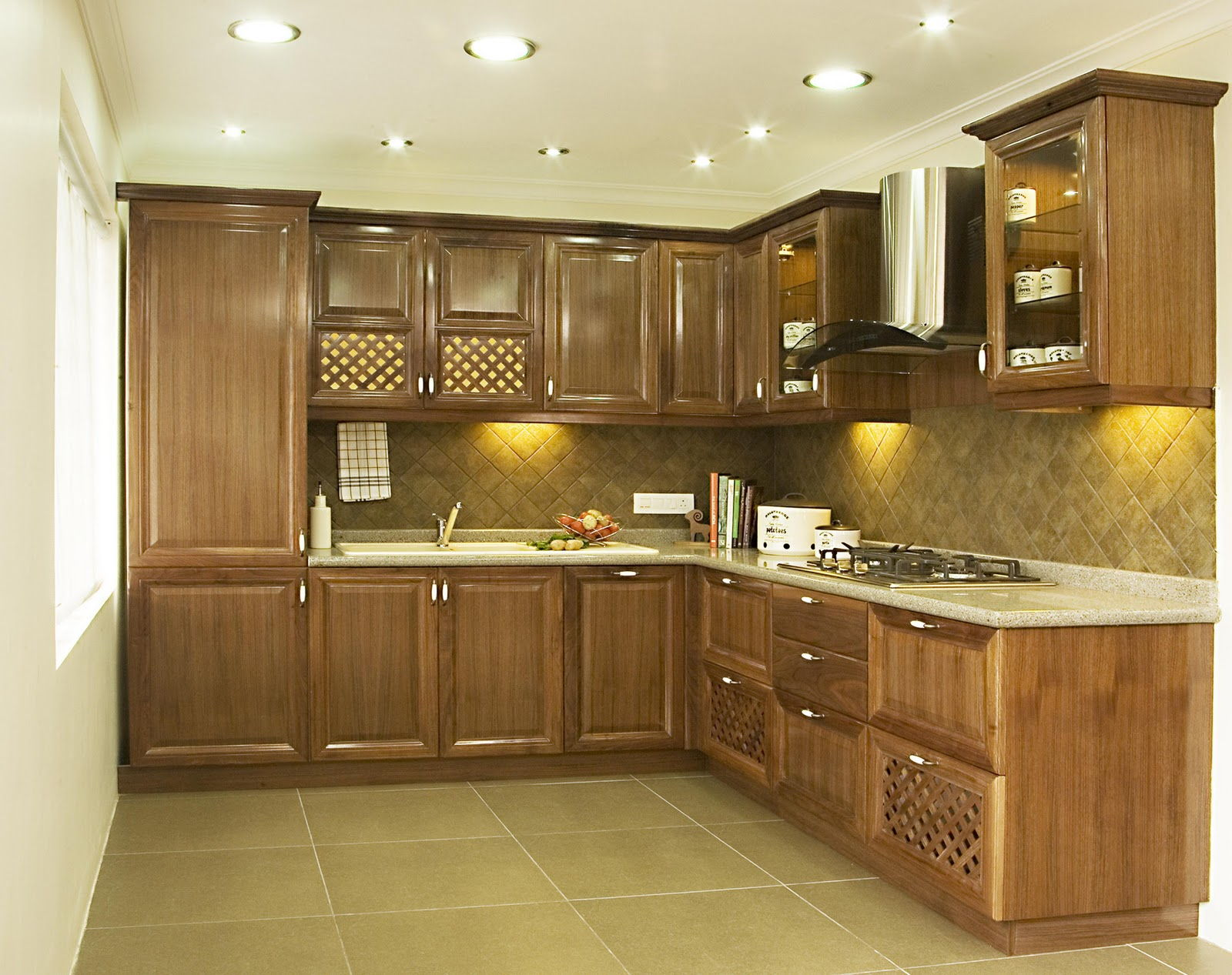 Kitchen cabinets india designs